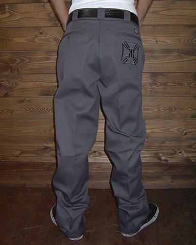 【KUSTOM WORK PANT】 -IRONCROSS-