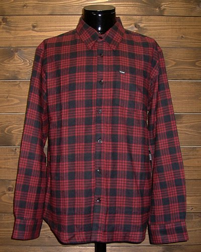 【Hurley】L/S FLANNEL CHECK SHIRT