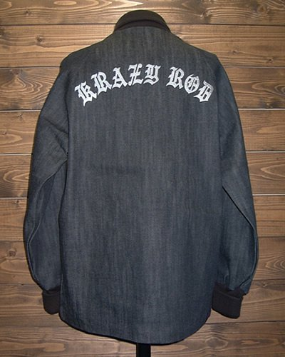 【DENIM PHARAOH JACKET】