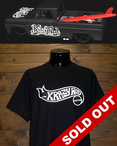【HELLS DEPT x KRAZY ROD】'62 Chevy Truck x T-shirt Set