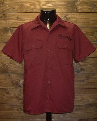 【TWO TONE S/S WORK SHIRT】