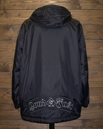 【HOODED NYLON ZIP JACKET】
