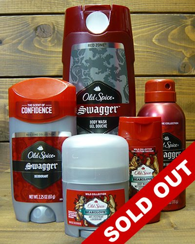 【OLD SPICE】 -ACTION PACK-