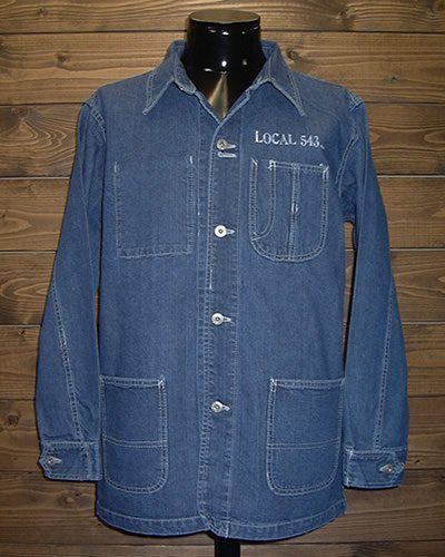 【DENIM COVERALL】