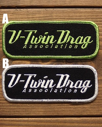V-Twin Drag Association -Logo Patch-