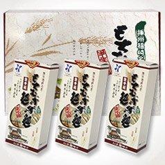 もちむぎ半生麺:麺180g×6袋(12人前)めんつゆ付
