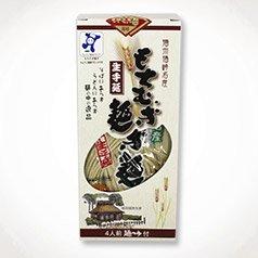 もちむぎ半生麺:麺180g×2袋(4人前)めんつゆ付