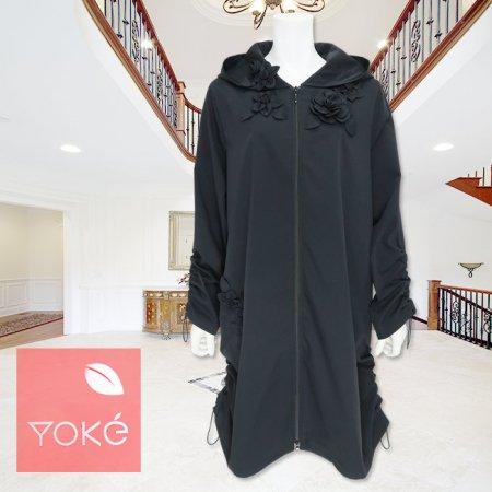 コート【YoKe(ヨーク)】Y31007−黒