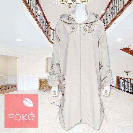 コート【YoKe(ヨーク)】Y31007−ベージュ