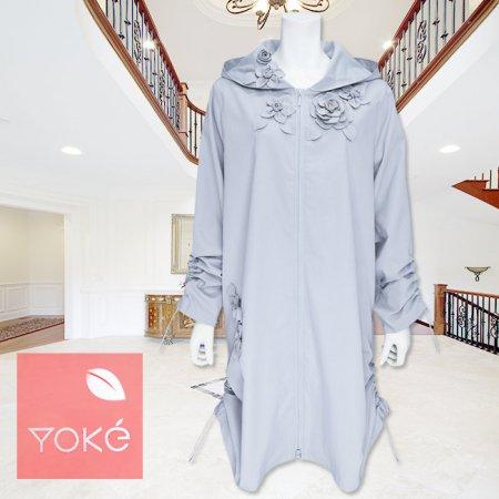 コート【YoKe(ヨーク)】Y31007−ブルー