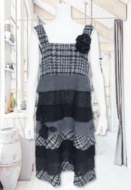 ジャンパースカート【BelPaci(ベルパーチ)】BP60062−グレー