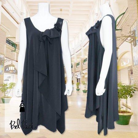ジャンパースカート【BelPaci(ベルパーチ)】BP60117−黒