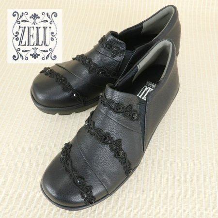 シューズ【ZELU(ゼル)】Z20693224−黒