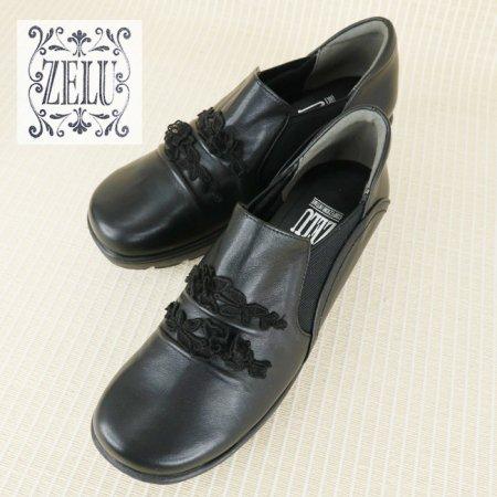 シューズ【ZELU(ゼル)】Z20593221−黒