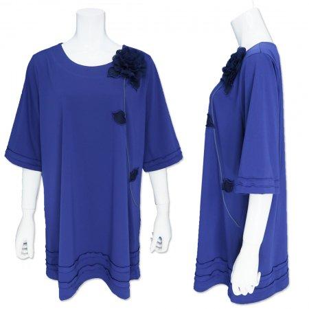 ビッグTシャツ【BelPaci(ベルパーチ)】BP51760−ブルー
