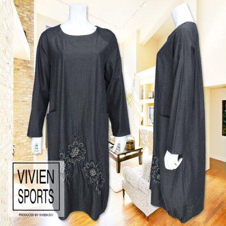 ワンピース【VIVIEN SPORTS(ヴィヴィアンスポーツ)】V9311006−黒