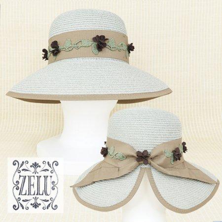 帽子【ZELU(ゼル)】Z21196108−グレー