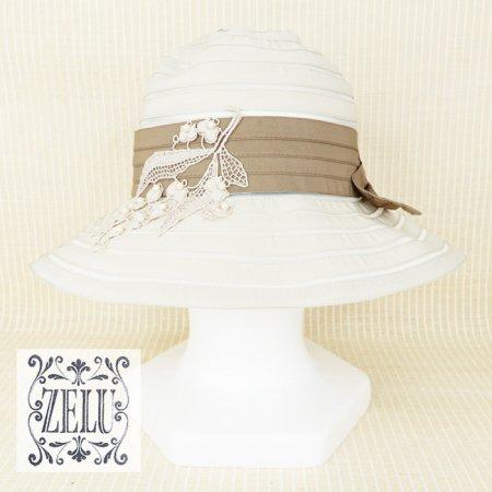 帽子【ZELU(ゼル)】Z21196104−ベージュ