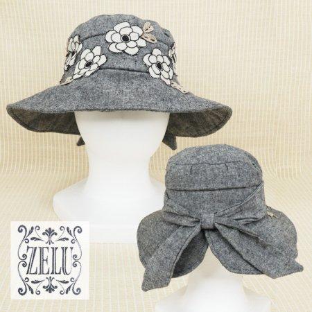 帽子【ZELU(ゼル)】Z21396112−黒