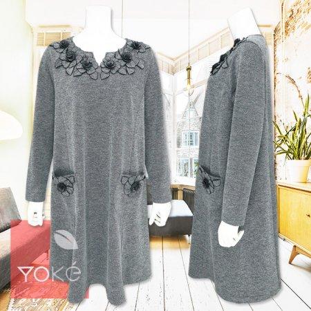 ワンピース【YoKe(ヨーク)】Y11025−黒