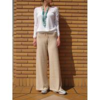 HIP HANGER WIDE PANTS