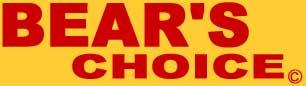 Bear's Choice Web Shop