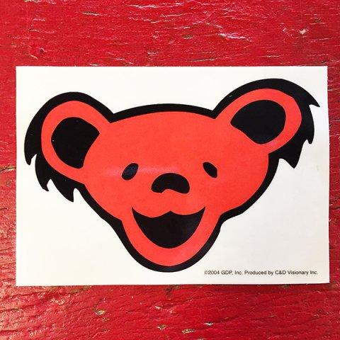 Grateful Dead - Smile Bear Face Sticker (G-22) - Bear's Choice Web Shop