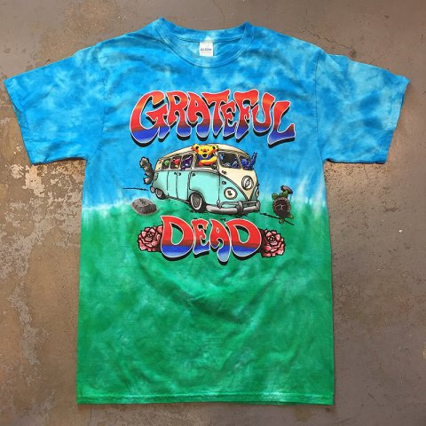 Grateful Dead - Dancing Bears On VW Tour Bus Tie-Dye T-shirt - Bear's  Choice Web Shop