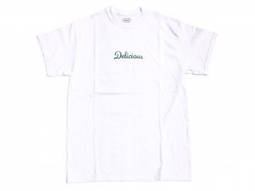 Delicious [ Store Logo T-Shirt ] WHITE