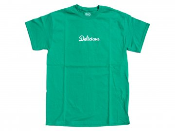 Delicious [ Store Logo T-Shirt ] GREEN