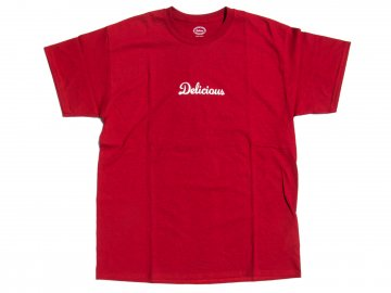 Delicious [ Store Logo T-Shirt ] HEATHER RED