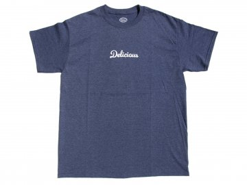 Delicious [ Store Logo T-Shirt ] HEATHER NAVY