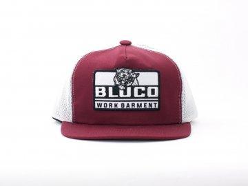 BLUCO [ ORIGINAL MESH CAP -Tiger- ] BURGUNDY x WHITE