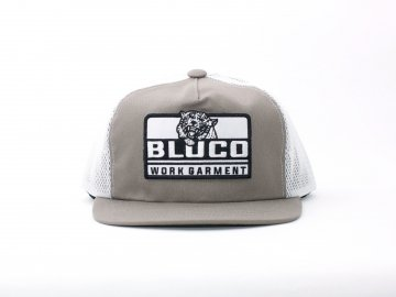 BLUCO [ ORIGINAL MESH CAP -Tiger- ] GRAY x WHITE