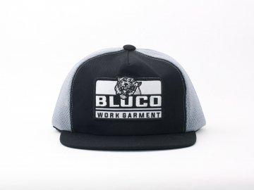 BLUCO [ ORIGINAL MESH CAP -Tiger- ] BLACK x GRAY
