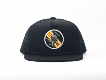UNCROWD [ ORIGINAL MESH CAP -UCCT- ] BLACK