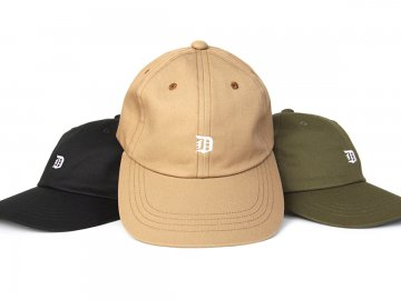 Delicious [ Old 6panel Cap ] 3 COLORS