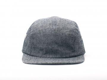 BLUCO [ JET CAP -BLANK- ] BLACK CHAMBRAY