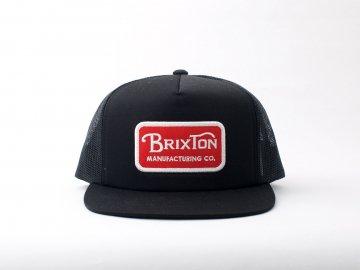 BRIXTON [ GRADE Mesh Cap ] BLACK