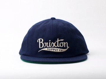 BRIXTON [ GOMEZ Cap ] NAVY