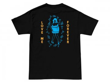 Good Worth & Co. [ Love Me Forever Tee ] BLACK
