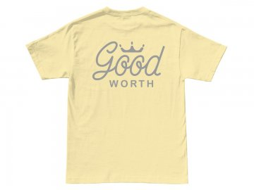 Good Worth & Co. [ Crown Logo Tee ] BANANA