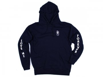 Good Worth & Co. [ Love Me Forever Hoodie ] NAVY
