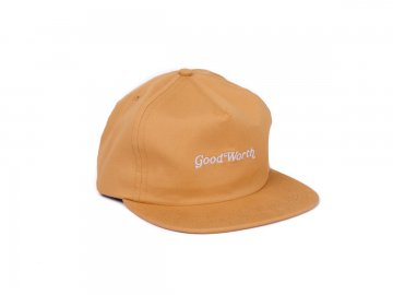 Good Worth & Co. [ OG Logo Snapback Cap ] CAMEL