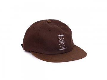 Good Worth & Co. [ Night Moves Strapback Cap ] BROWN
