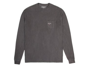 Delicious [ Daily Used Long Sleeve Pocket T-Shirt ] BLACK