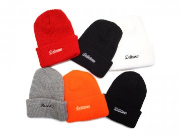Delicious [ Core Logo Beanie ] 6 COLORS