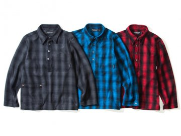 68&BROTHERS [ Ombre Popover Shirts ] 3 COLORS