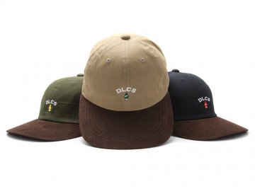 Delicious [ Little Trees Logo Paraffin 6Panel Cap ] 3 COLORS