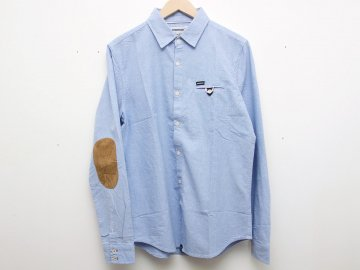 INTERFACE [ PAD COTTON SHIRTS ] SAX